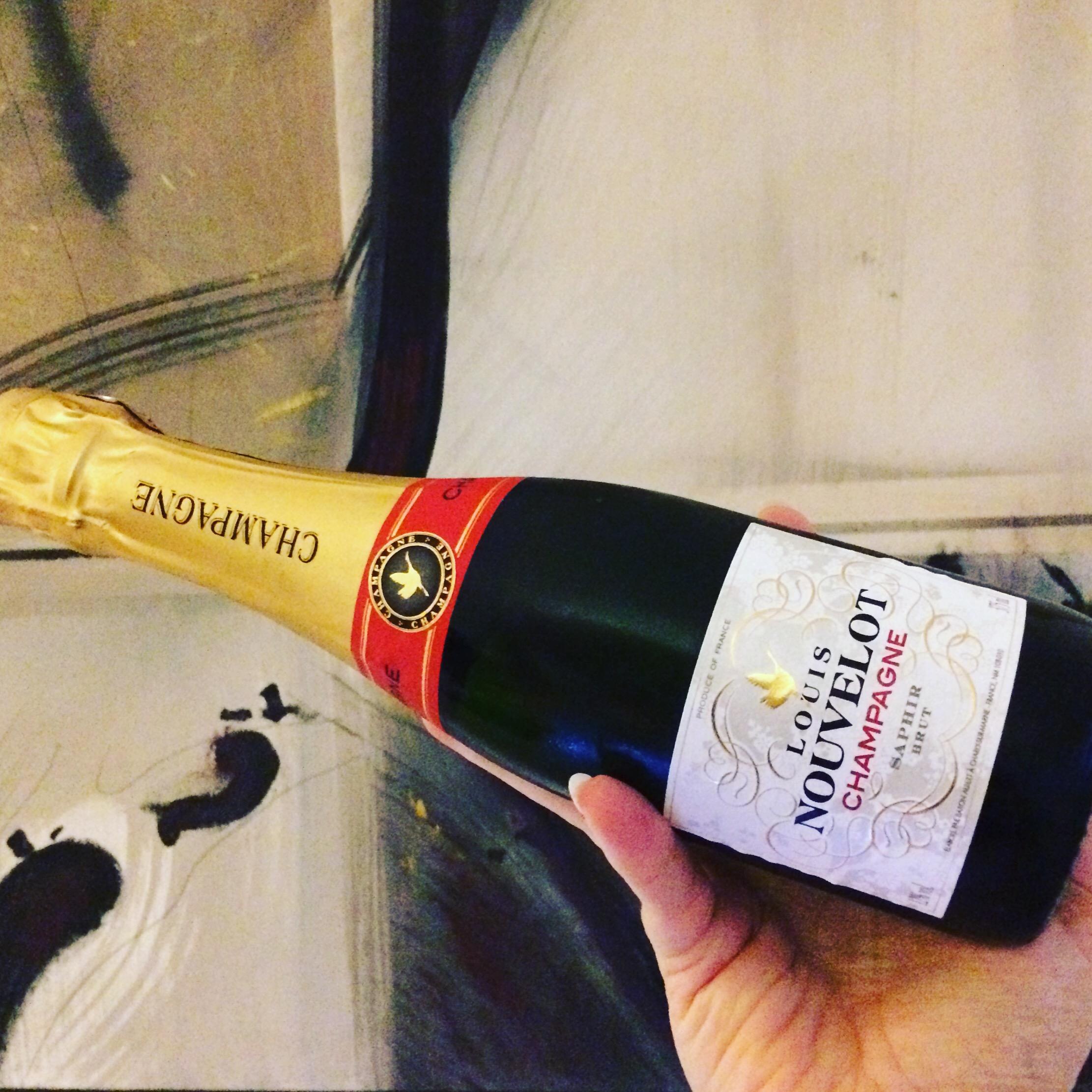 edullinen samppanja Louis Nouvelot